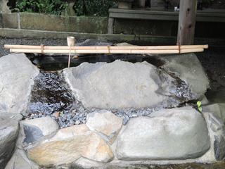 神城神社 手水舎